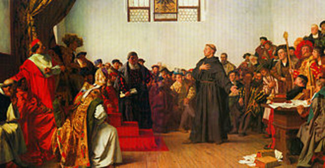 1st meeting of The Diet Of Worms