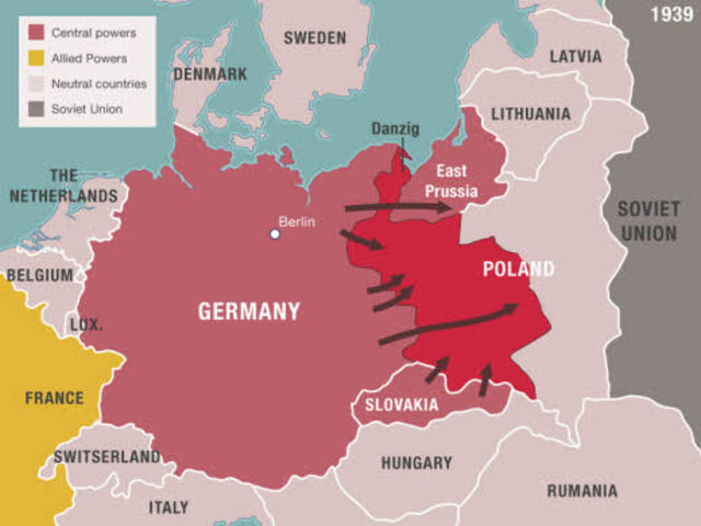 Germany invades Poland
