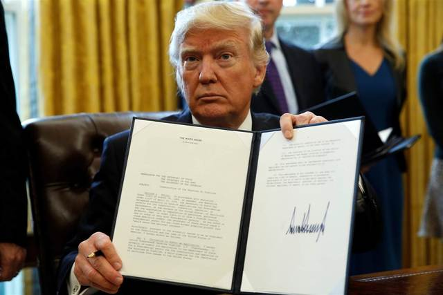 President Donald Trump Revokes the Fair Pay and Safe Workplace Act