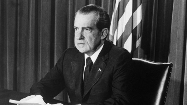Richard Nixon Resigns From Presidency