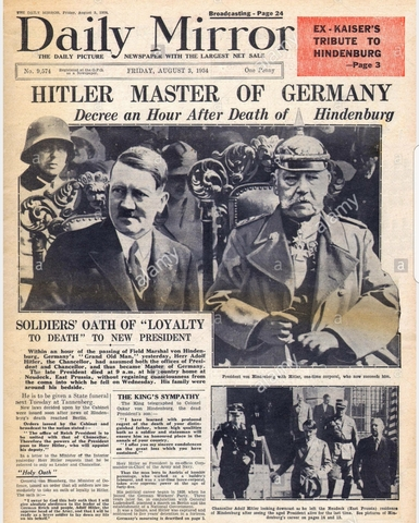 Hitler becomes Prime Minister of Germany