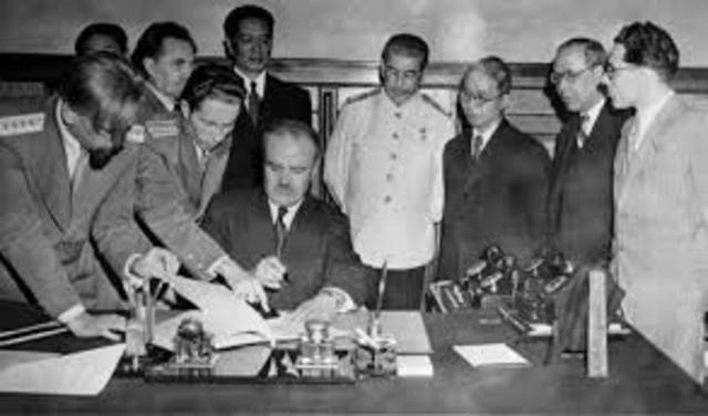 Signing of Sino-Soviet Treaty - https://en.wikipedia.org/wiki/Sino-Soviet_Treaty_of_Friendship_and_Alliance