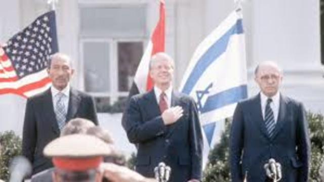 Camp David Accords - https://www.britannica.com/event/Camp-David-Accords