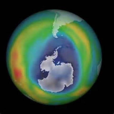 The Antarctic Ozone Hole discovered