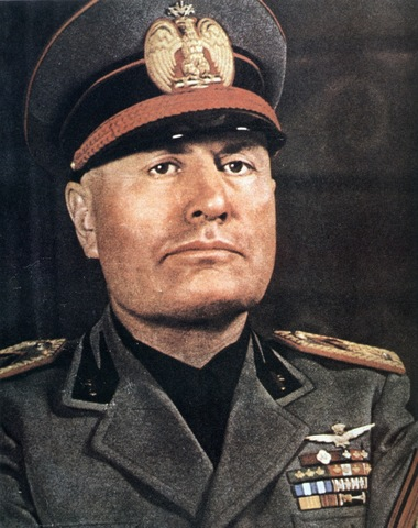 Mussolini Named Prime Minister Of Italy