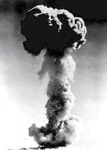 First Chinese nuclear test