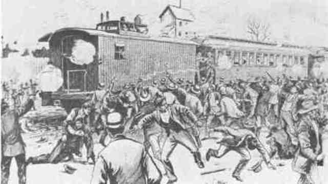 the influence of the american railway union among the workers of the pullman company George pullman george mortimer members of the eugene v deb's american railway union the pullman company only rehired workers who promised never to join a union.