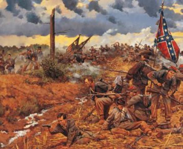 Sandie Livolsi S Civil War Timeline Timetoast Timelines