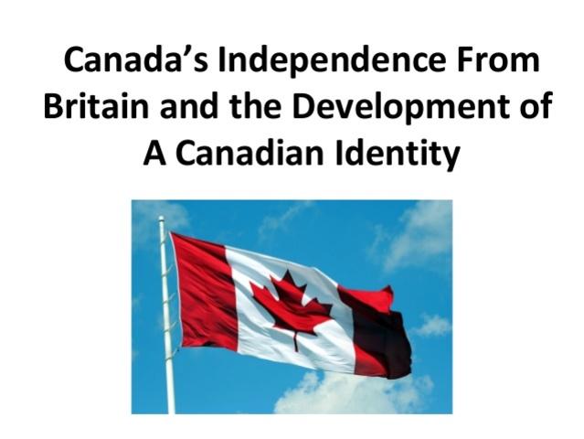 Autonomy of Canada