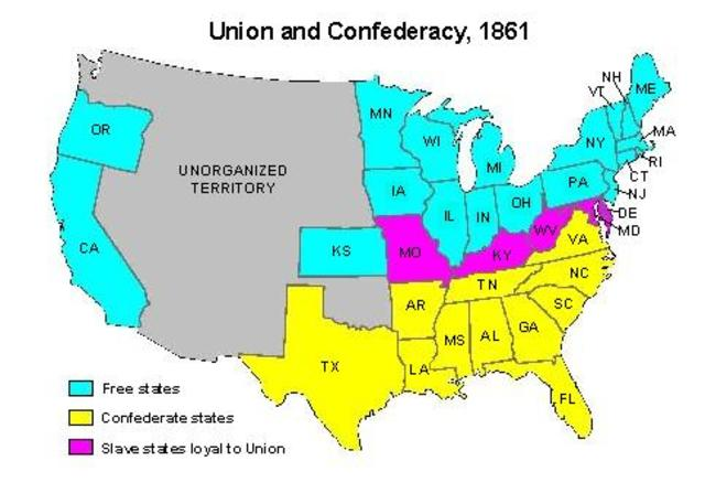why did southern states secede 1861 Read the proclamations from the southern states in the header above and then describe why the confederate states seceded click to enlarge a political cartoon from 1861 shows florida, alabama, mississippi, and louisiana as men riding donkeys, following south carolina's lead toward a cliff.