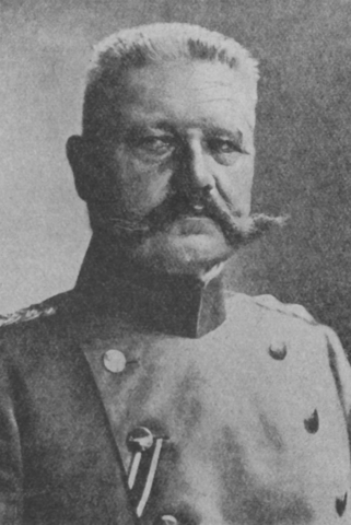 German President Hindenburg dies.