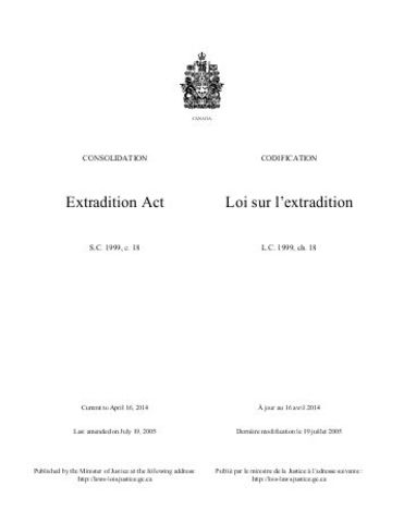 Canada's Extradition Act