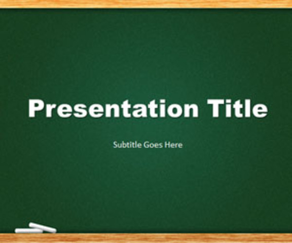 Power Point Presentations as assignments in class