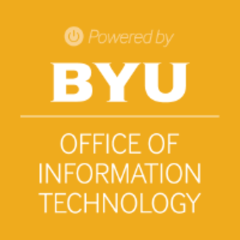 Work for BYU Office of Information Technology