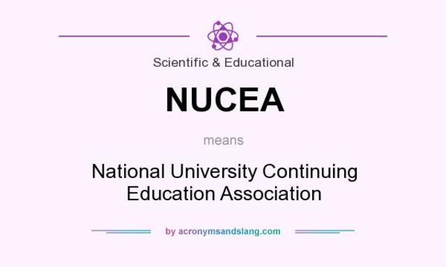 National University Continuing Education Association
