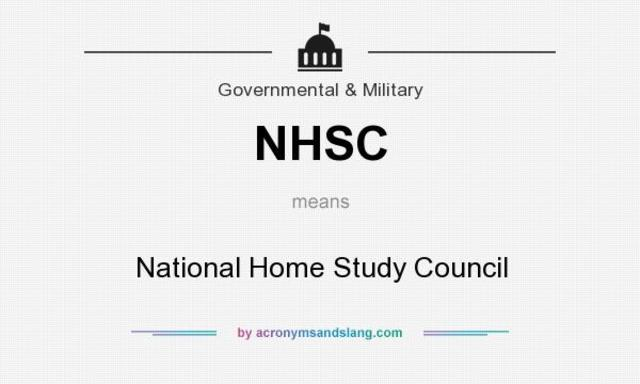 National Home Study Council