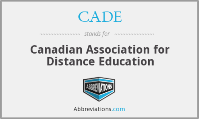 Canadian Association for Distance Education