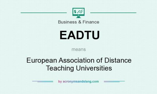 European Association of Distance Teaching Universities