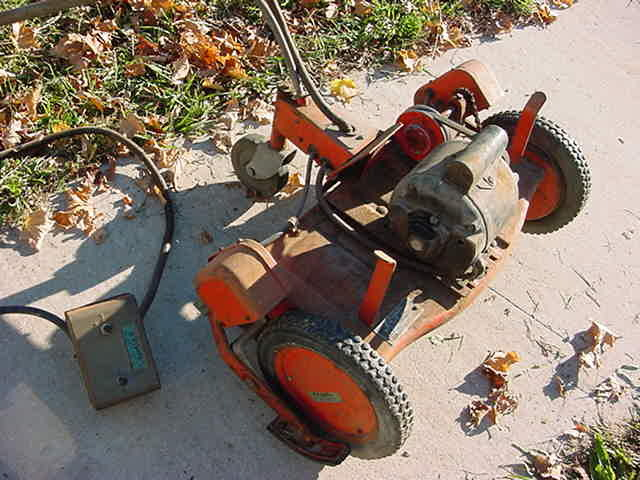 A 1950's Push mower
