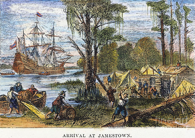 a history of jamestown