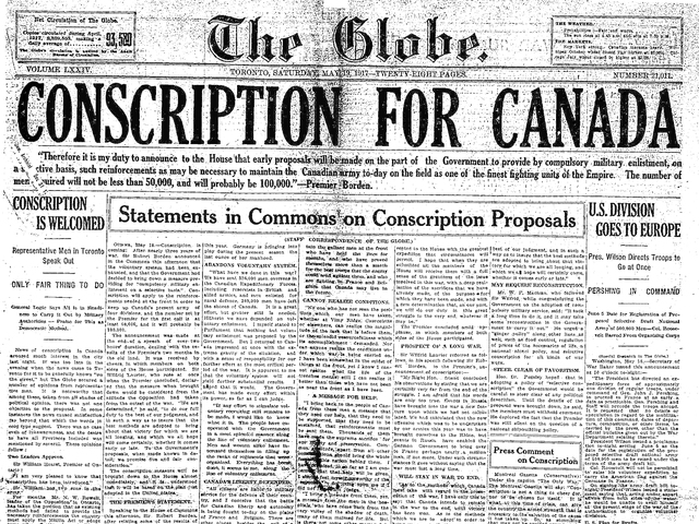 conscription crisis canada 1942 Canadian conscription plebiscite, 1942 a plebiscite on conscription was held in canada on 27 april 1942.