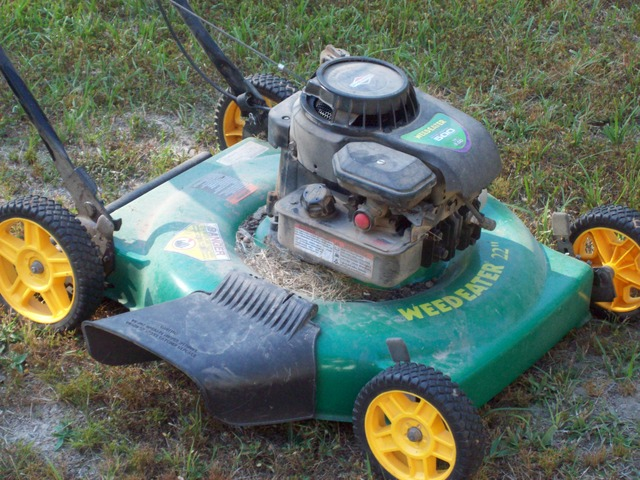 My 2010 Weed Eater push mower