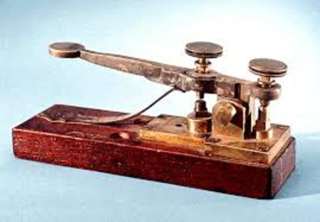 the invention of the telegraph