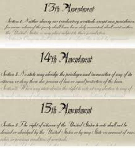 13th,14th,15th Amendments