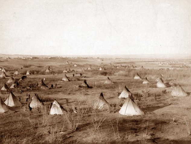 Native Americans Confined to Reservations