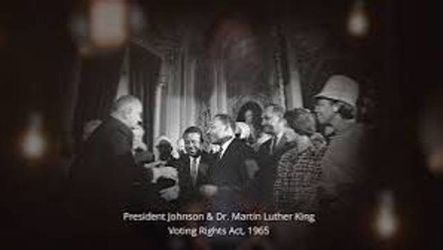 The Voting Rights Act was Passed