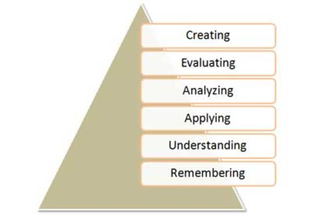 Bloom Developed Learning Domains