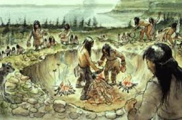 First natives in North America