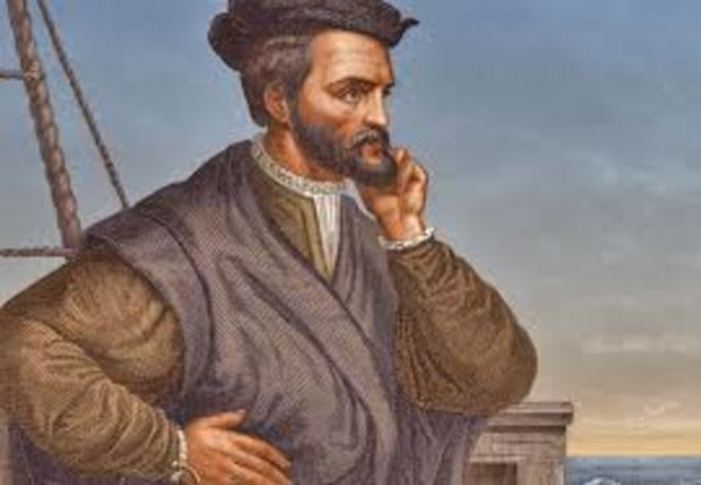 Exploration of the saint-Lawrence river by Jacques Cartier