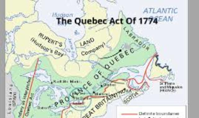 The Québec Act