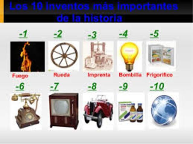 6 inventos mas importantes de la historia