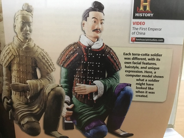 Ch. 6.3 Ancient China, The Terricota Soliders