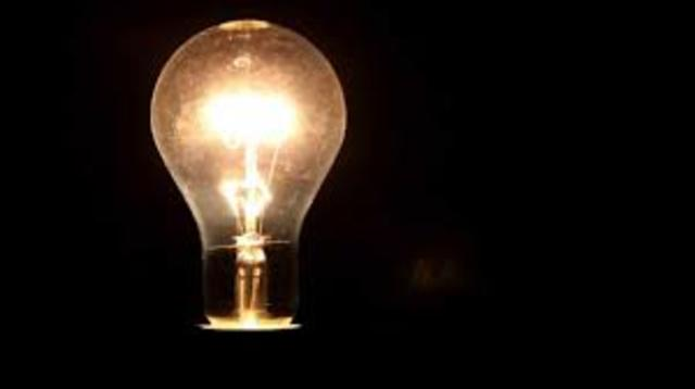 Electric Light Bulb Invention