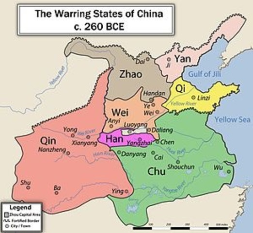 6.2: China: The beginning of the Warring States Period