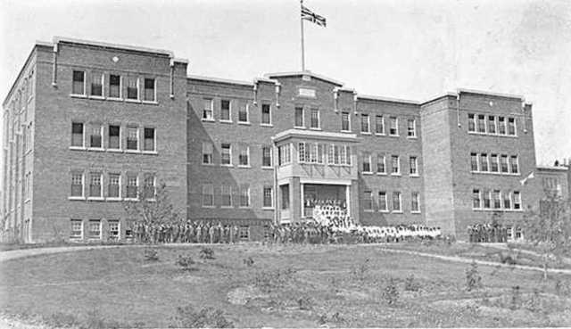 Residential School System Established