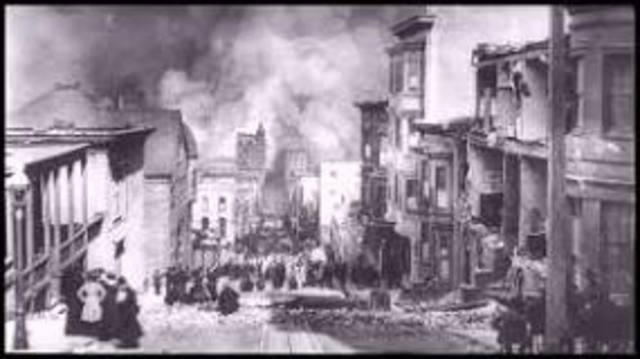 US/World- Great San Francisco Earthquake