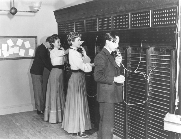 The first switchboard