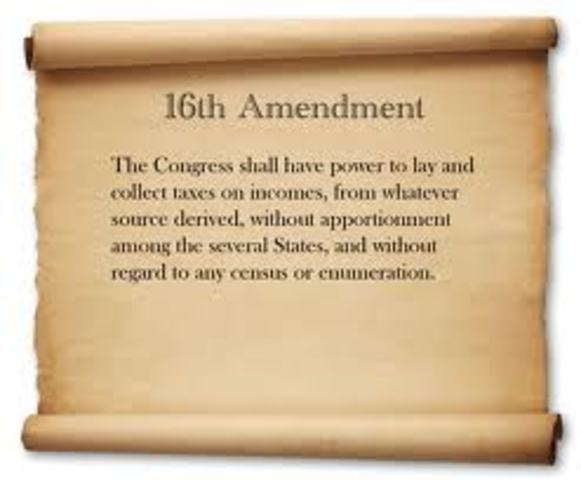 16 Amendment