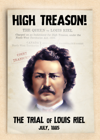 the four main defence arguments for the trial of louis reil Louis riel louis riel, a leader taken to regina to stand trial for treason at his trial, riel gave two long speeches which attempts by his defence counsel.