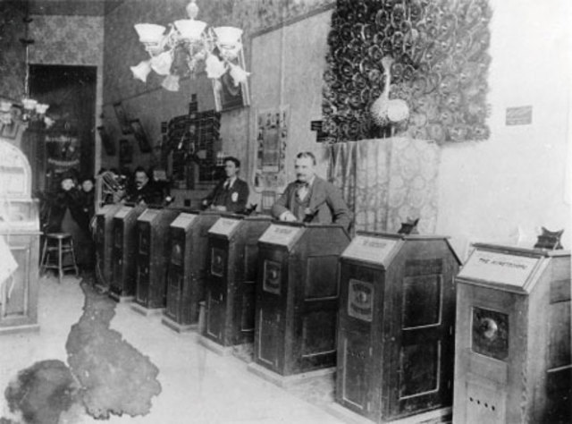 The First Kinetescope Parlor