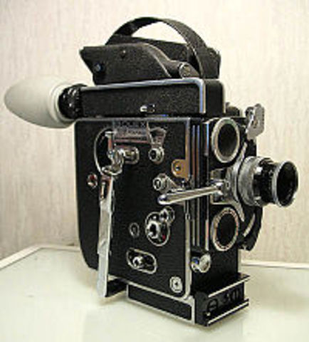 who invented the motion picture camera