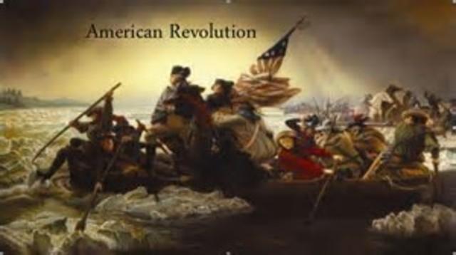 American revolution dates in Perth