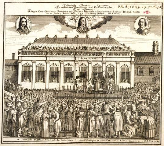 King Charles I executed