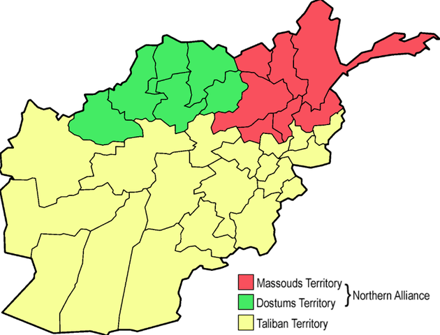 Taliban Takes Control After Civil War