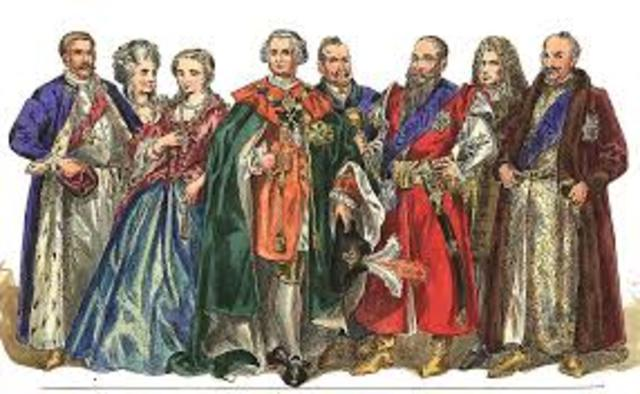 eight English nobles