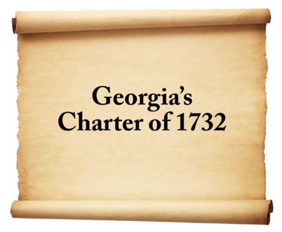 1732 king George ll issued Georgia's first offical charter